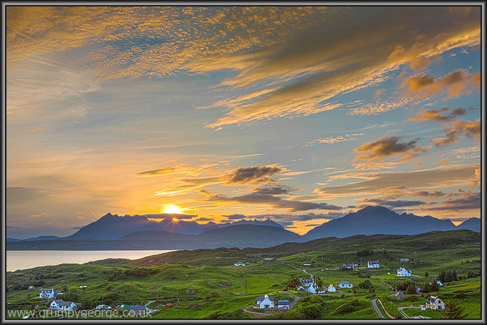 Tarskavaig sunset Skye 18