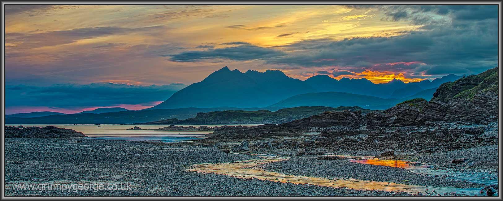 Achnacloich sunset Skye 30