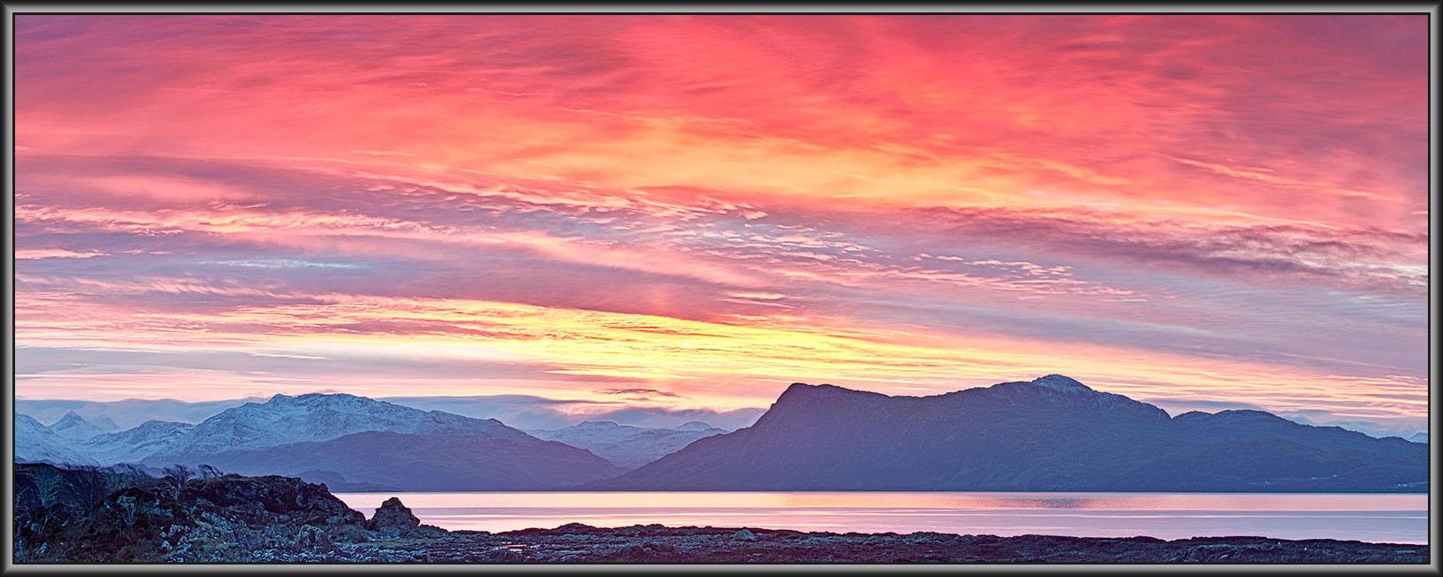 Sunrise. South Skye. 30