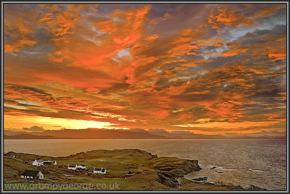 Aird sunrise skye 18