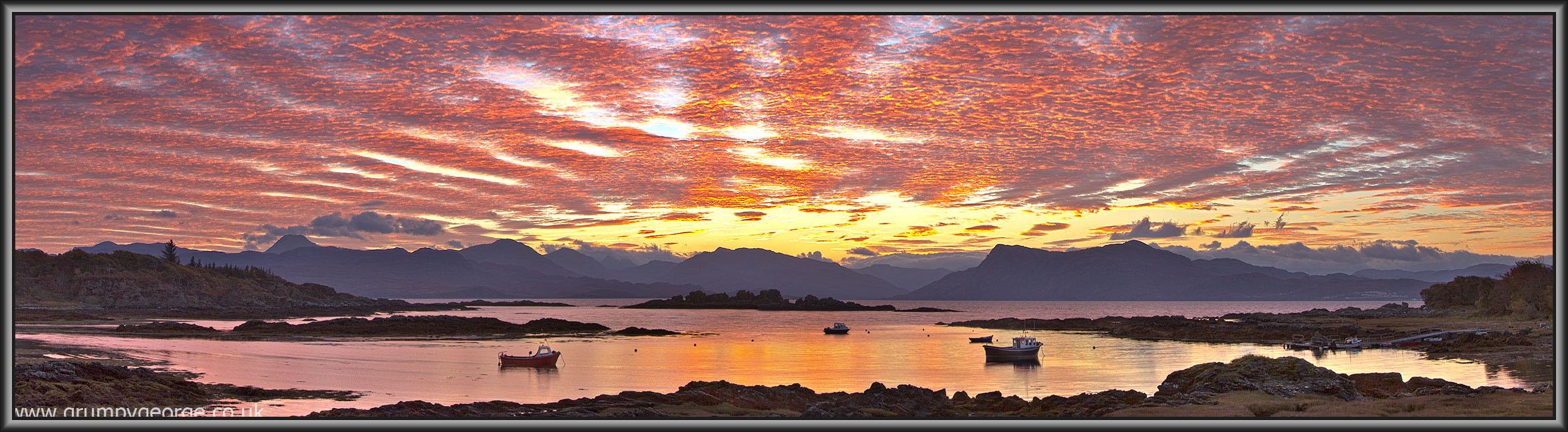 Ardvasar Sunrise Skye 44
