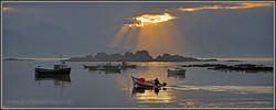 Ardvasar fisherman. Skye 30