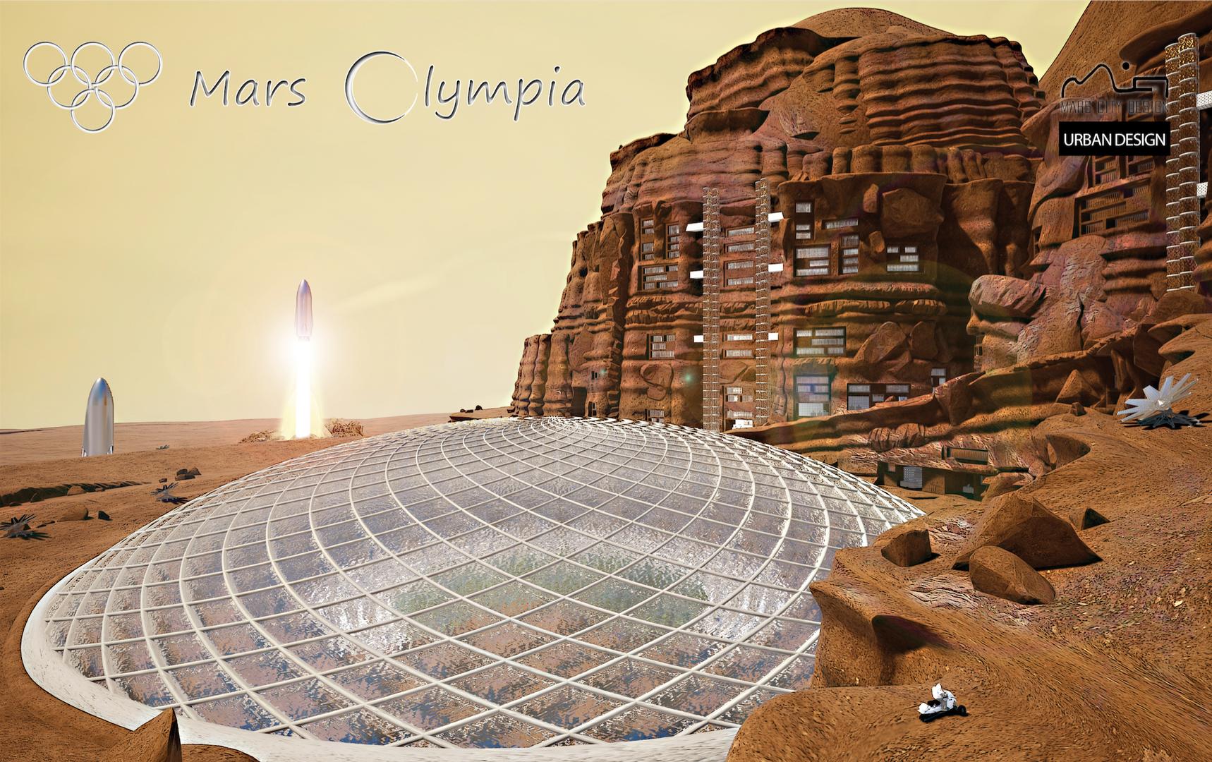 Mars Olympia