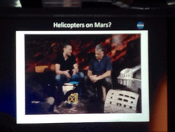Helicopters on Mars?