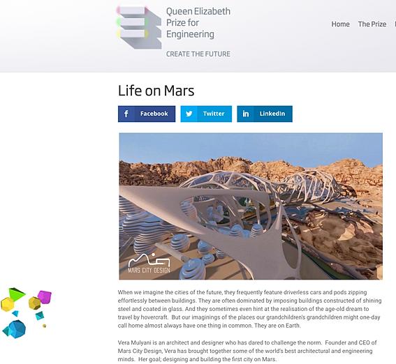 mars travel brochure