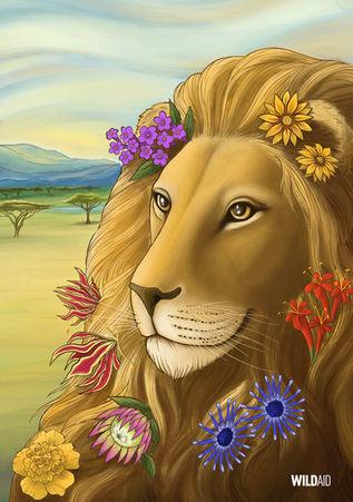 WildAid Poster: Lion