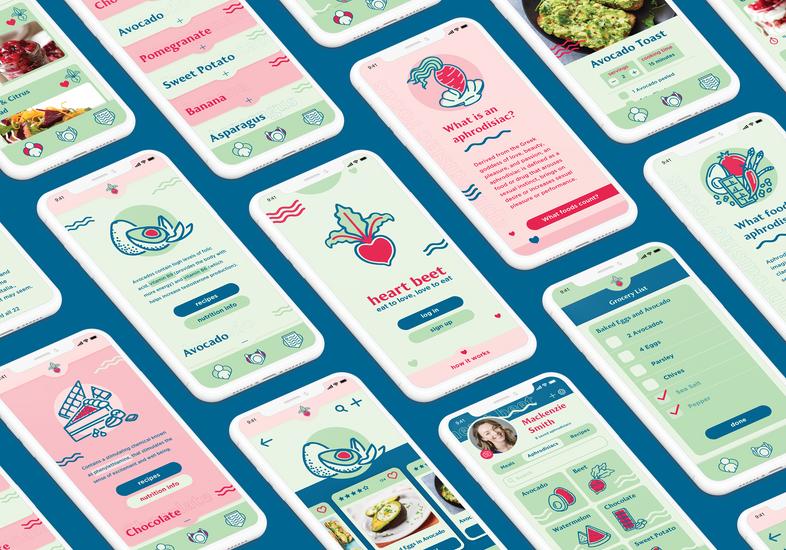 Heart Beet App Design