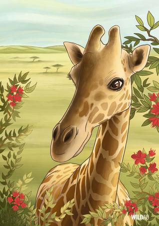 WildAid Poster: Giraffe