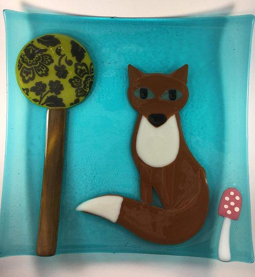 Fox and Toadstool Dish