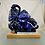 Thumbnail: Azurite Dinosaur Carving