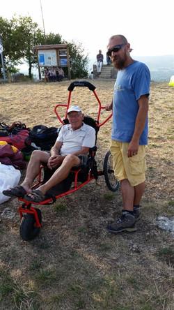 chariot handycap