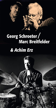 Georg Schroeter, Marc Breitfelder, gs-mb, gsmb, Kiel, Blues, Piano, Mundharmonika, Blues Harp, Achim Erz