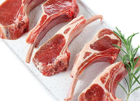 Baby Rib Lamb Chops 14-16 chops