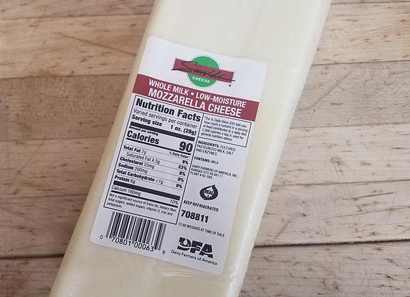 1/2 Lb. Mozzarella Cheese
