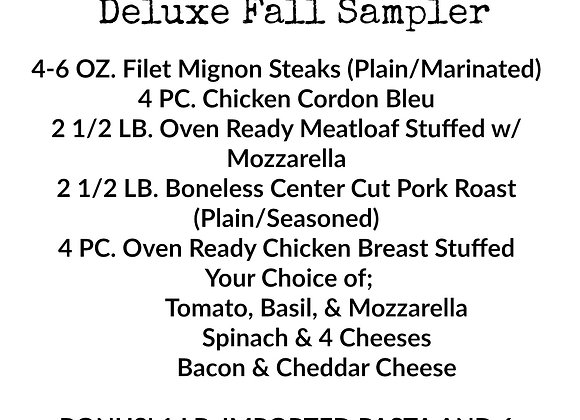 Deluxe Fall Sampler