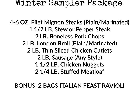 Winter Sampler Package