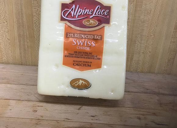 1/2 Lb. Alpine Lace Swiss Cheese
