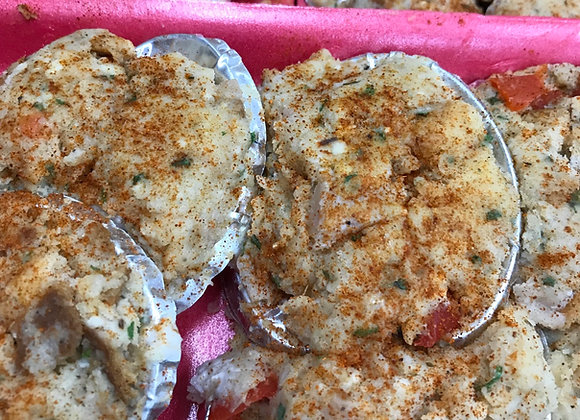 Baked Clams    pack of 6