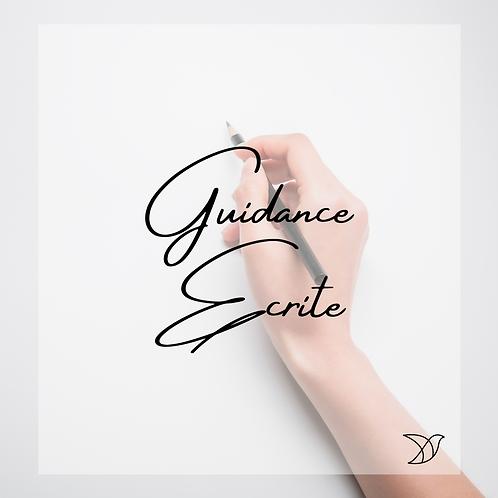 Guidance écrite