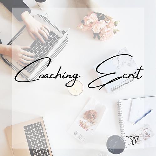Coaching Ecrit