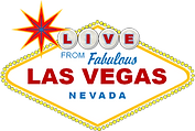 Neon sign Live from Fabulous Las Vegas Nevada