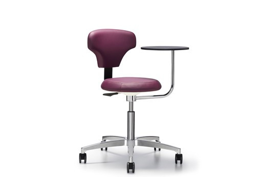 Innovative Jusky Medical Stools with Rotating Tablet Arm
