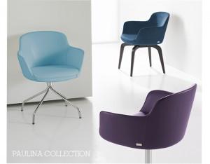 Paulina chair from Paul Brayton Design