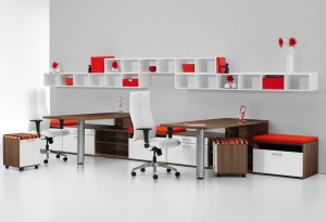 Vision desk series from JSI