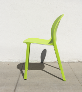 Knoll Olivares aluminum chair