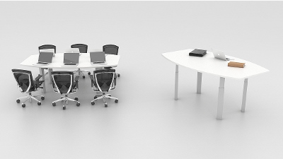 Need an adjustable height conference table? Try Clarity from Symmetry.