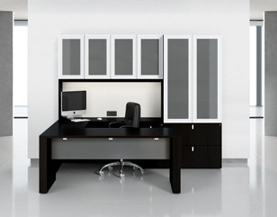 Artemis laminate desk series from Krug