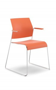 Allseating's stacking Tuck chair