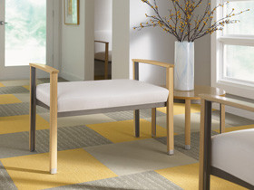 New benches from Carolina's Silvr Ion Collection