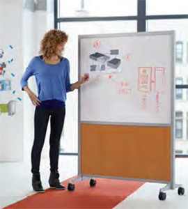Snap mobile markerboards from ABCO