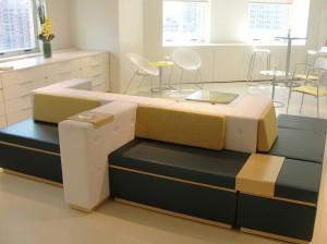 Geometric lounge seating – Tangent