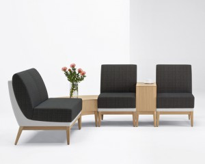 Ovate lounge seating from Arcadia