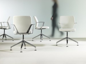 Flight conference chair from HBF