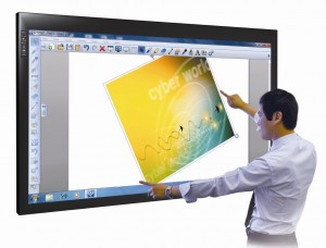 Optical Touch LCD Interactive Monitor by Claridge