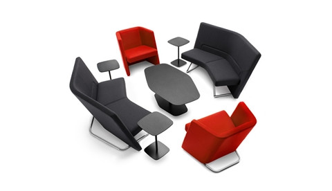 Talk lounge seating from Keilhauer