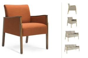 Monarch Lounge seating is durable and easy to clean