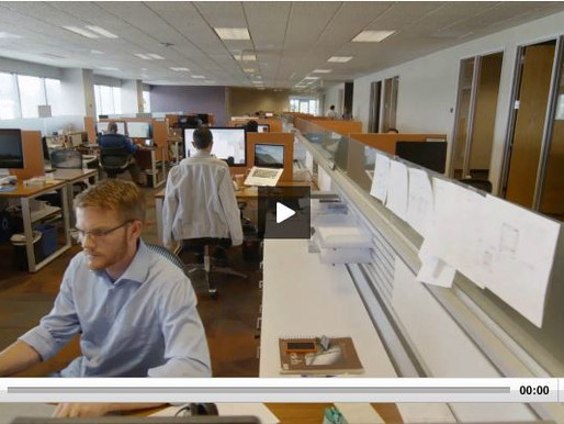 Maintaining collaboration in large offices - A case study