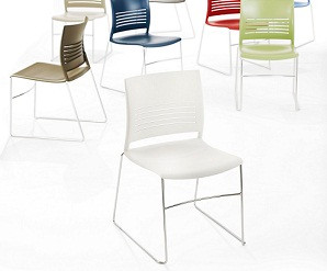 Mimic Stack Chair from Keilhauer