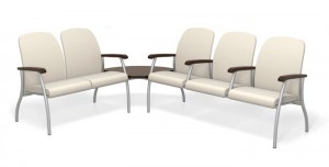 Midway waiting room seating from Spec