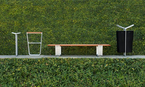 Landscape Forms' MultipliCITY Public Outdoor Furniture lets your space shine