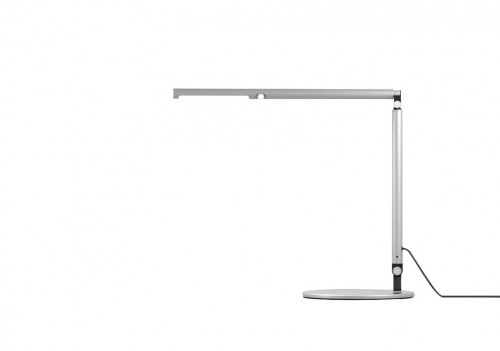 The Lustre desk lamp from ESI is light and lustrious