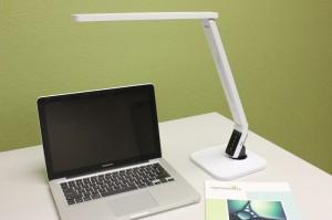 Ascend desk lamp from Symmetry