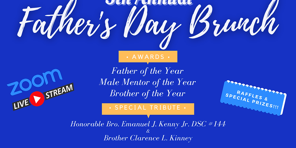 5th Annual Father's Day Event