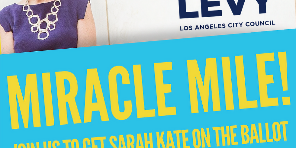 Miracle Mile Signature Gathering & Canvass