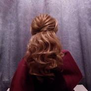 Haarstyling von mir für ein  wichtiges E