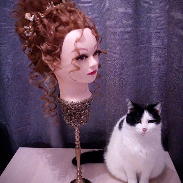 #frisuren #haarstyling #cats